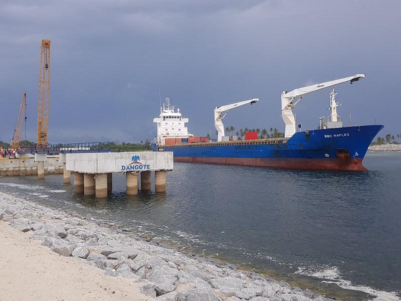 Dangote refinery jetty