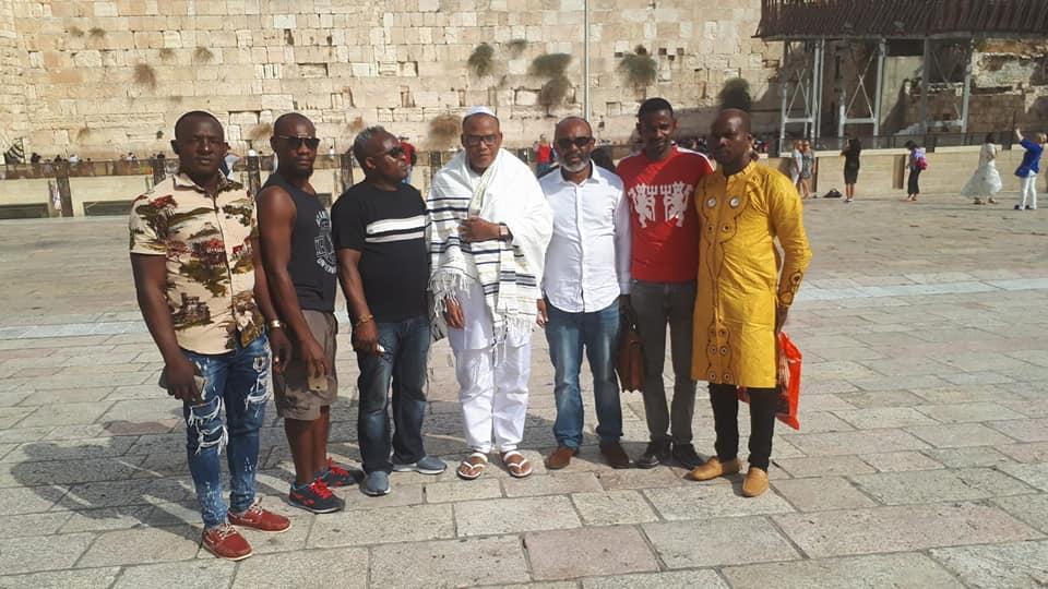 Nnamdi Kanu resurfaces in Jerusalem