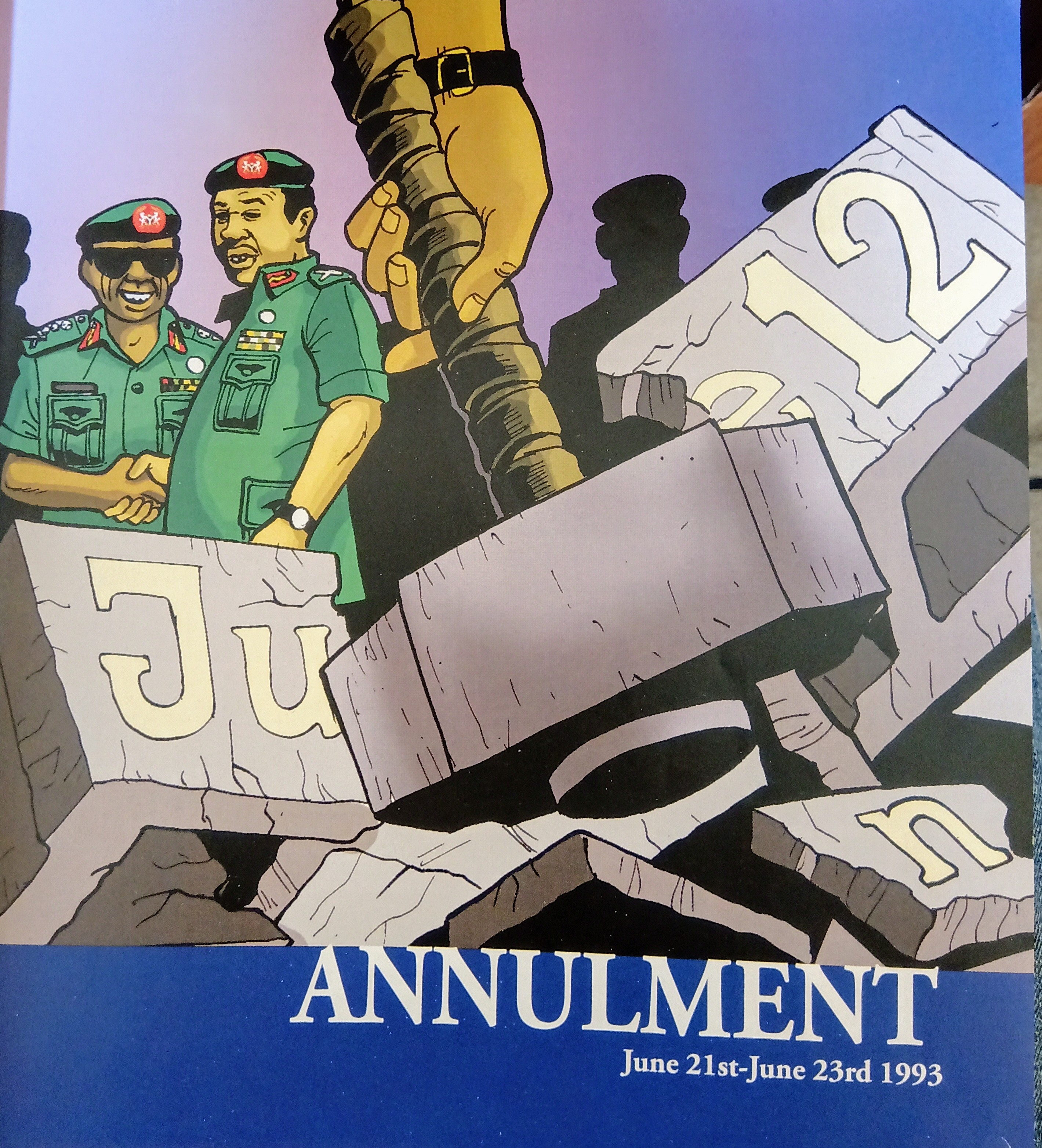 June 12 Presidential Election annulment