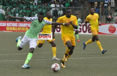Super Eagles B Lose 4 3 On Aggregate To Togo Crash - Super Eagles beat Togo but won't be going to CHAN 2020