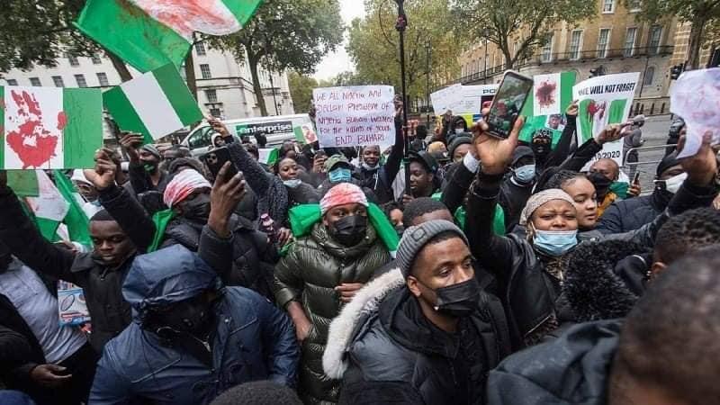Protest against Buhari
